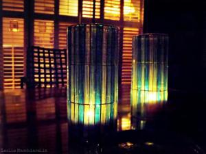 Night Candles photo by Leslie Macchiarella